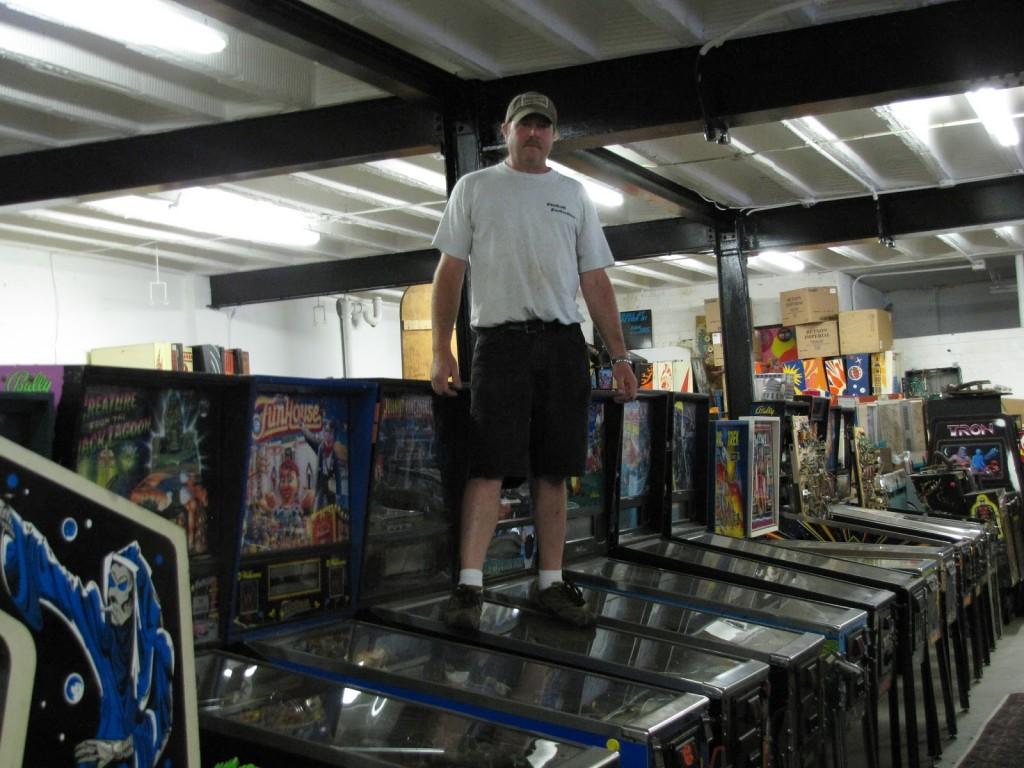 Dan Hosek on Pinball Machines